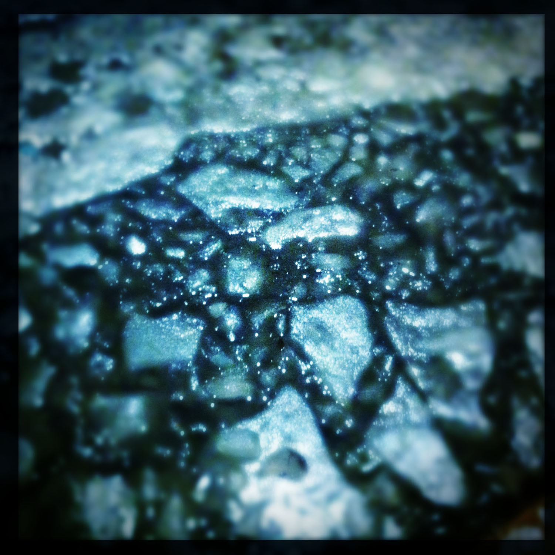 Mobile photography: melting ice
