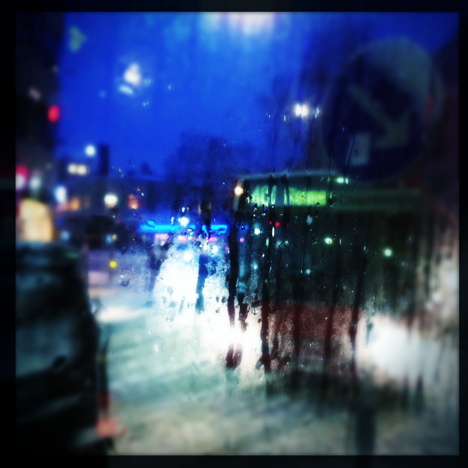 iPhone photo: bus in snow