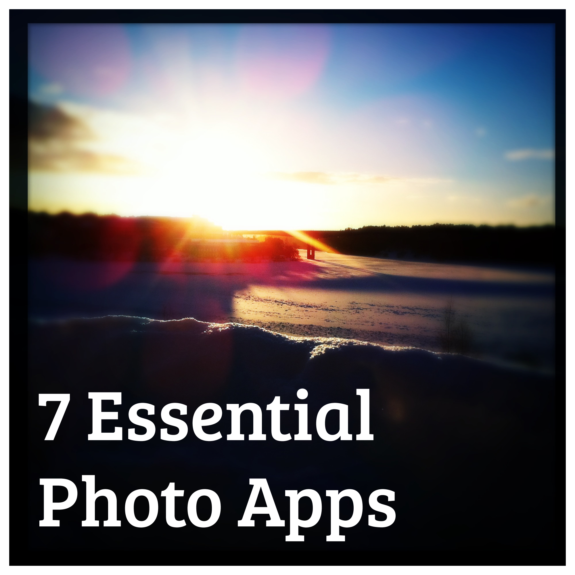 Essential Photo Apps