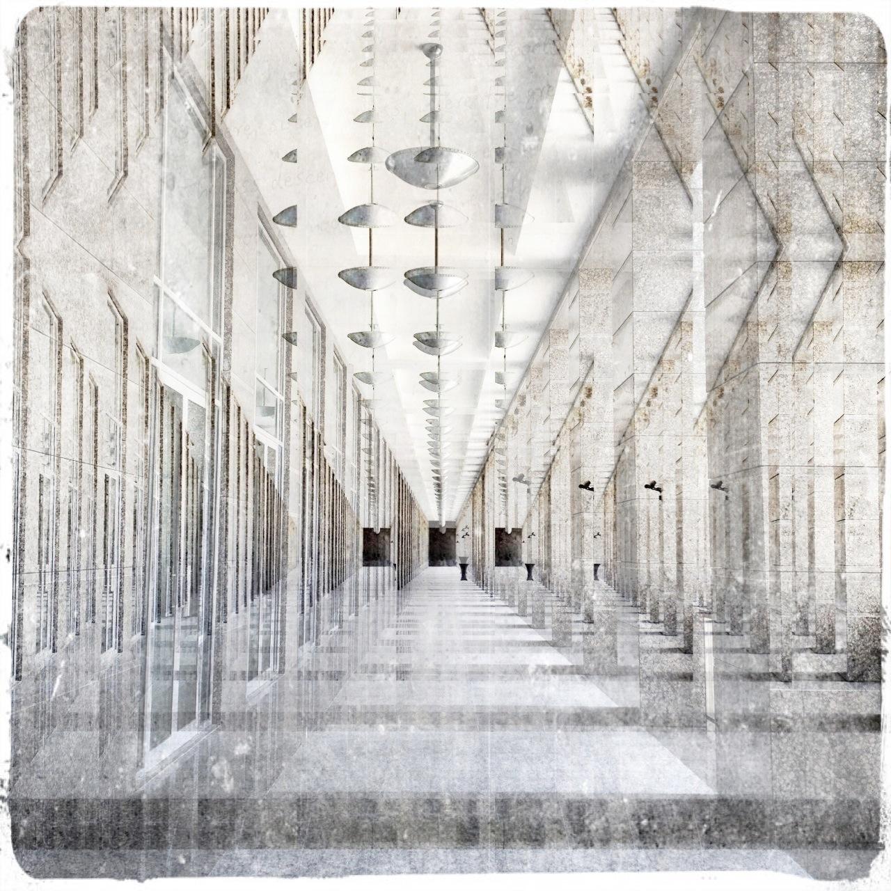 Corridors of Cyberspace II by Linda Hollier
