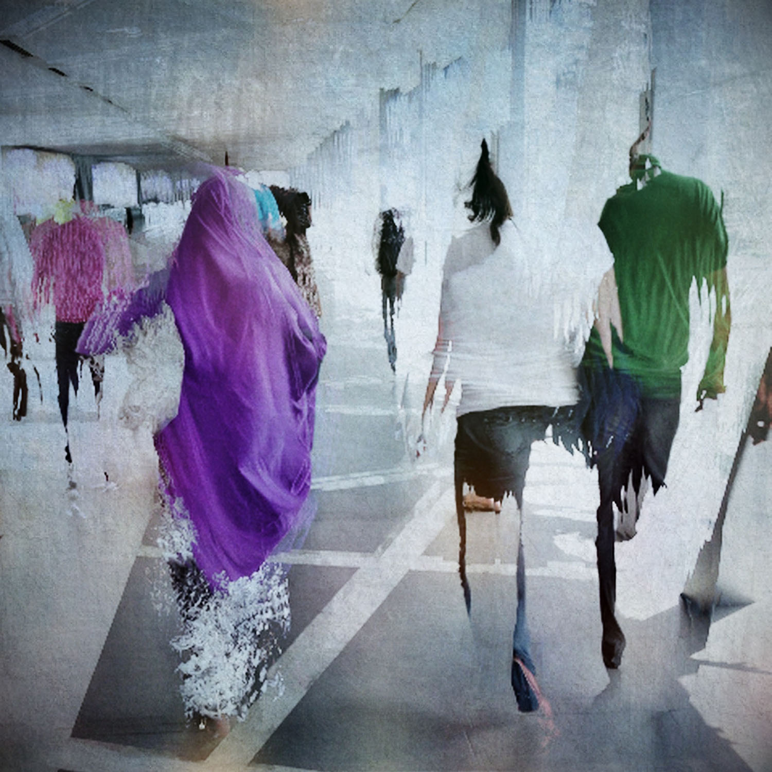 Movement in the Mall by Linda Hollier