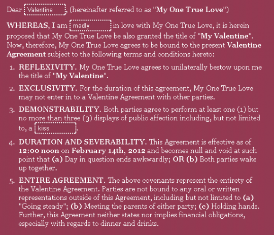 (via  Be My Contractually Obligated Valentine «Above the Law: A Legal Web Site – News, Commentary, and Opinions on Law Firms, Lawyers, Law School, Law Suits, Judges and Courts )