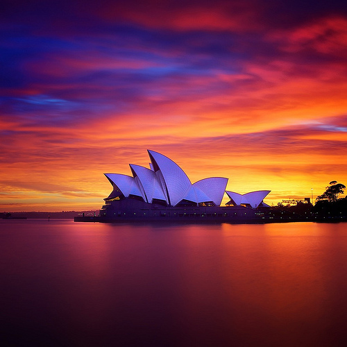 Opera Sunrise (by  noval a.n photography )