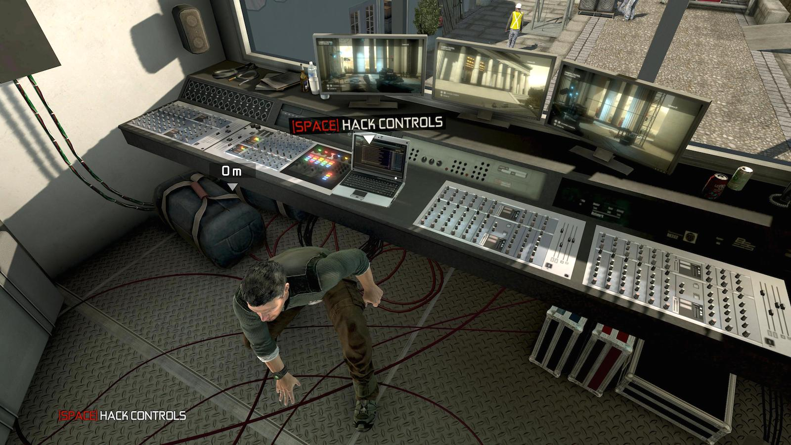 Splinter Cell: Conviction  maintains a meaningless spacebar for unimportant player-character actions