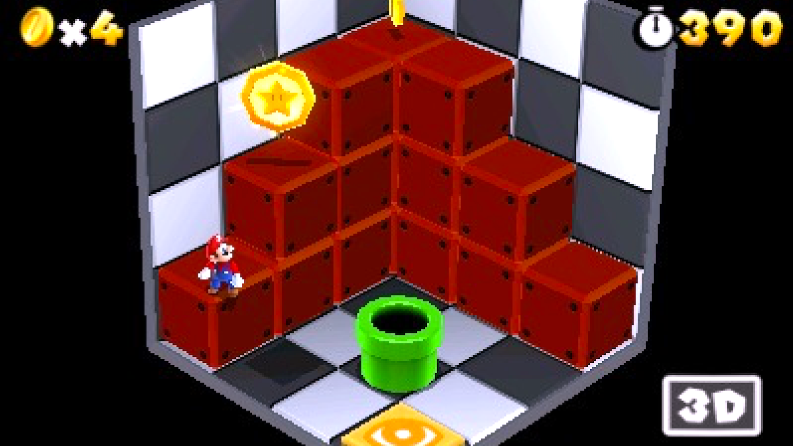 """The coin's not where you think it is. The console's  called """"3DS"""", but they still needed a big """"3D""""label…"""