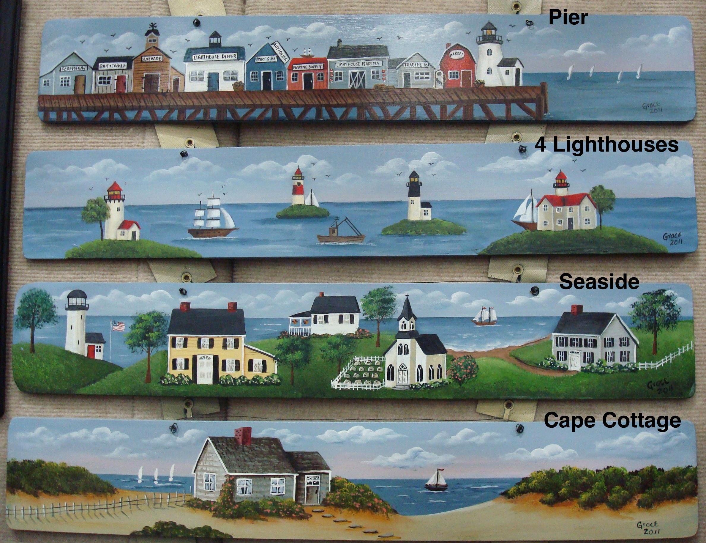 Pier / 4 Lighthouses / Seaside / Cape Cottage