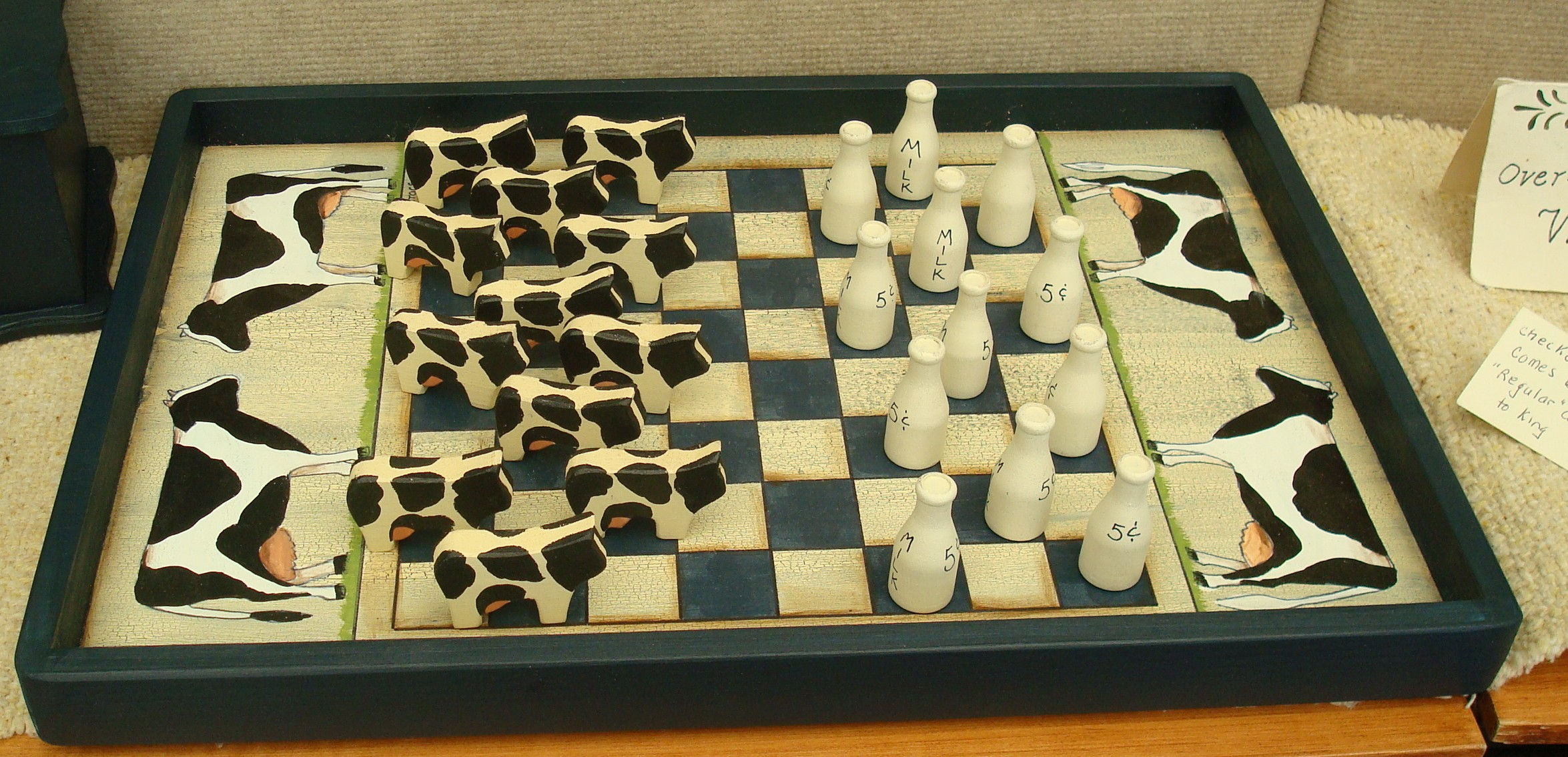 Cow Checkerboard