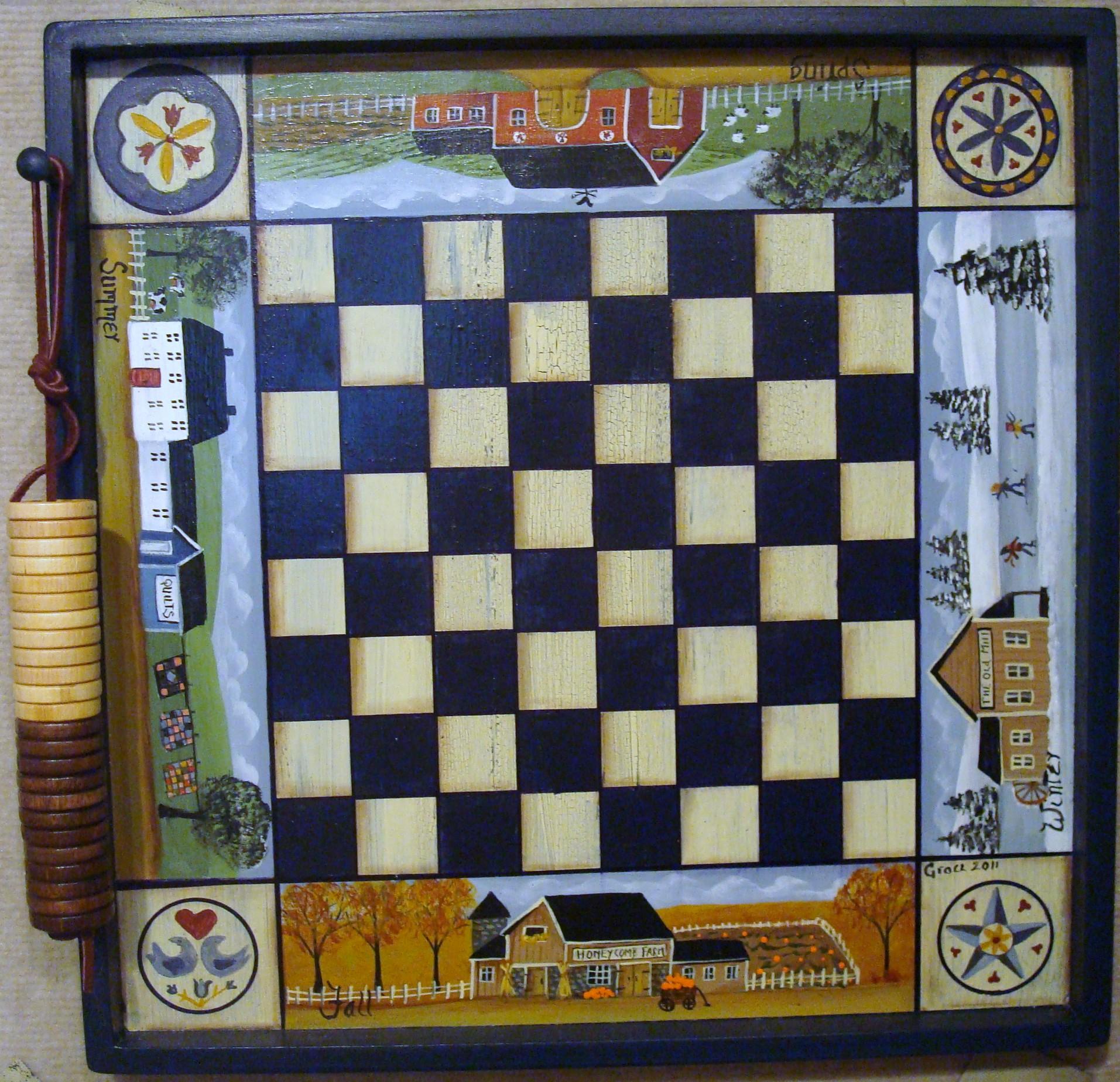 4 Season Checkerboard