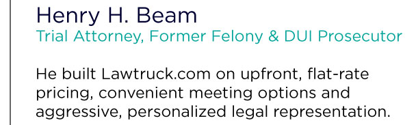 DUI lawyer Henry Beam