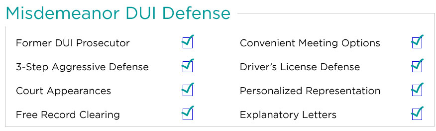 Phoenix DUI Aggressive defense