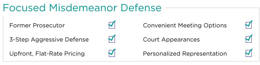 Phoenix Misdemeanor Lawyer