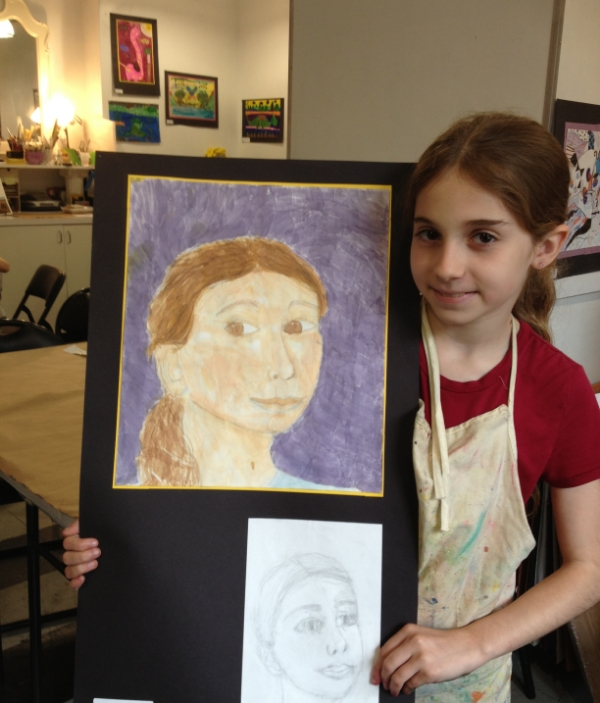 Self Portrait, Age 9