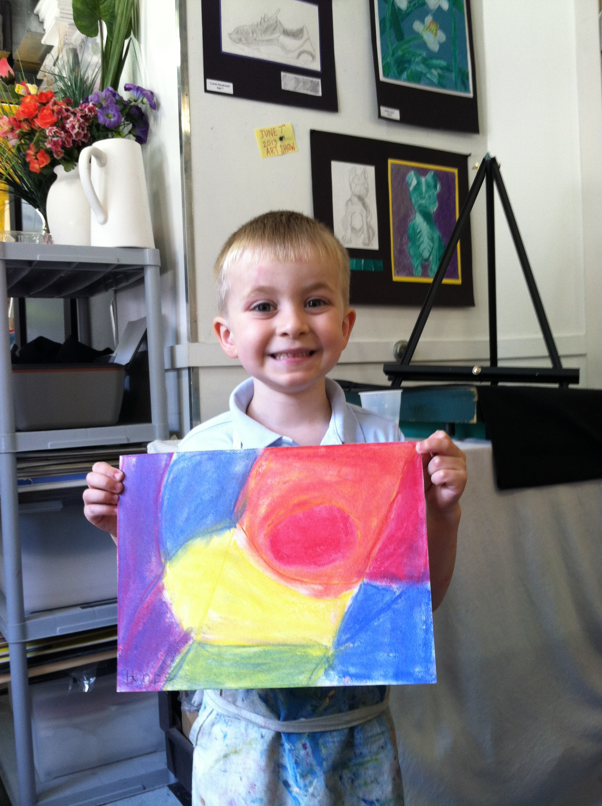 Primary Color Study, Age 5