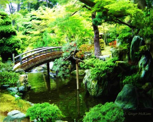 Tranquil Garden ©2012 J. Gazo-McKim Visual Artist.