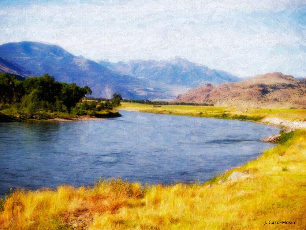Wandering Water by J. Gazo-McKim ©2014