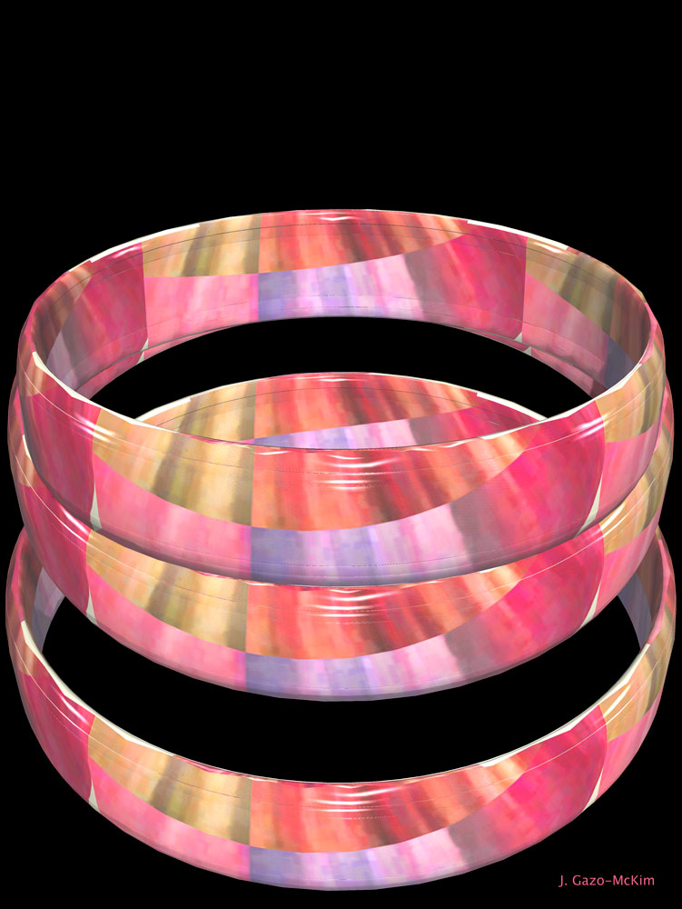 Patterned Rings by J. Gazo-McKim ©2014