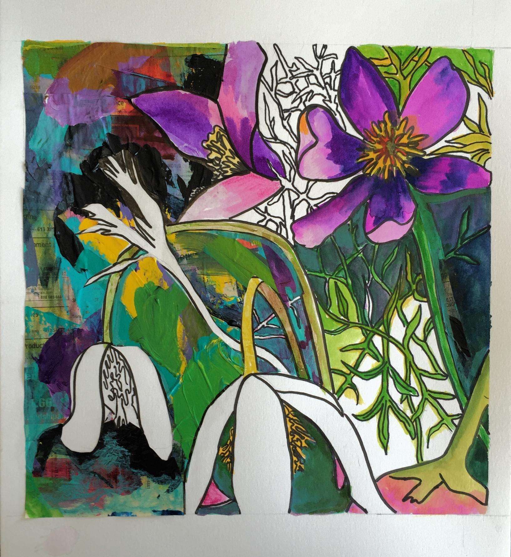 W.I.P. Anemone Allure by J. Gazo-McKim ©2015