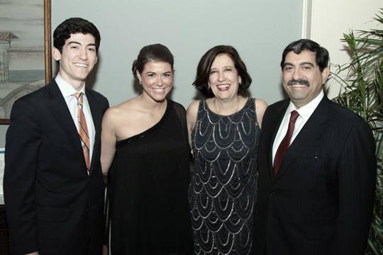 Honorees Nicholas, Julia, Gail & Willie Wood