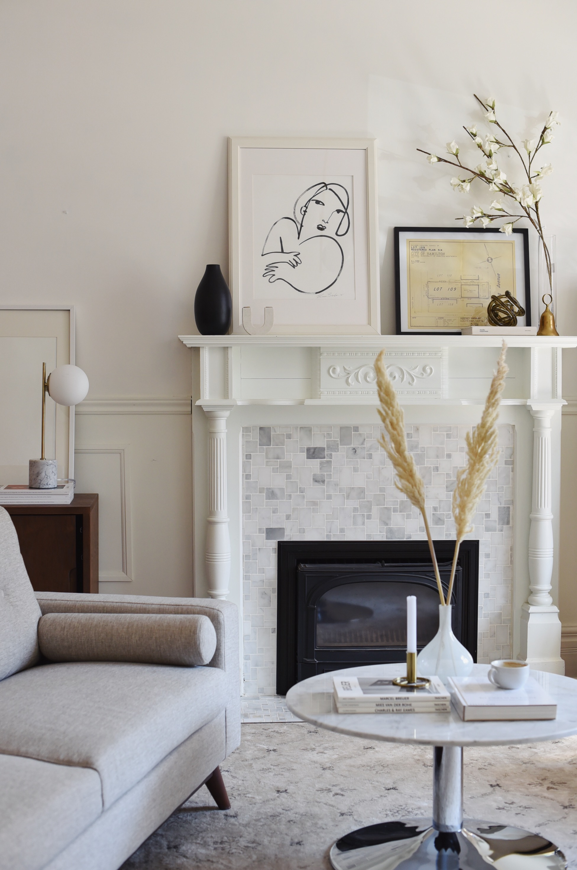 At Home: Living Room Reveal