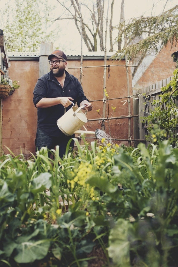 An icon of this lifestyle - Rohan Anderson of  Whole Larder Love