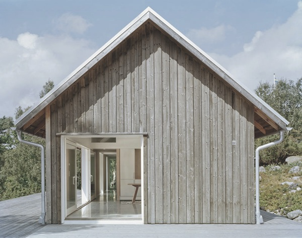 Simplified exteriors - By architect  Mikael Bergquist  .