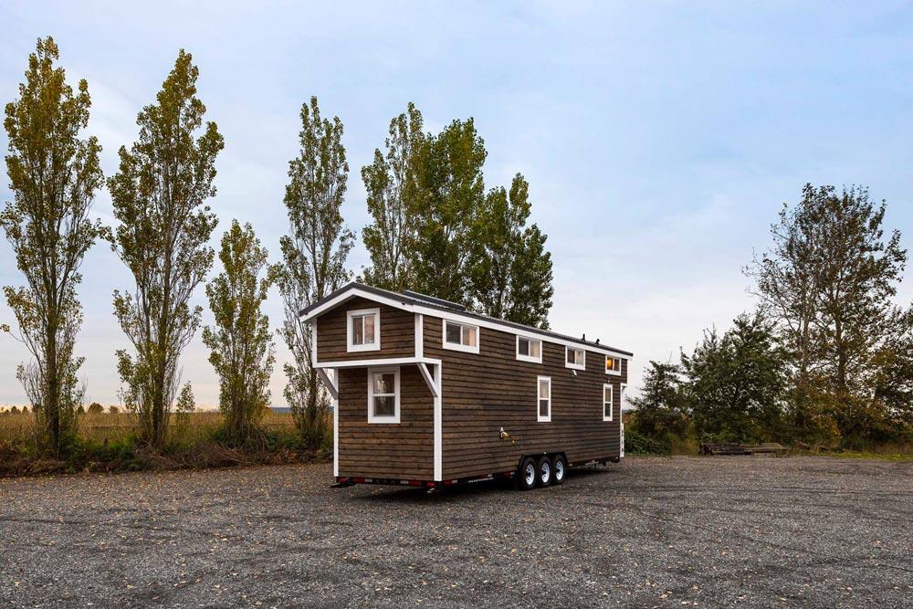 34 foot custom built tiny house by Mint Tiny Homes
