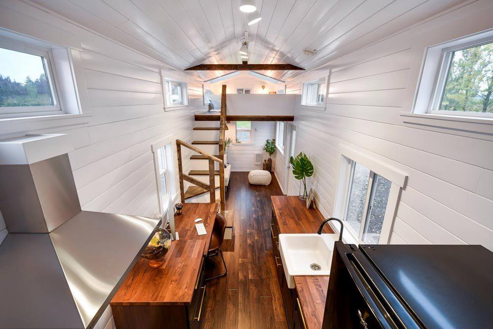 No sacrifice on quality; Luxury interior by Mint Tiny Homes
