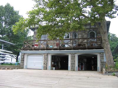 Back bays, PGRC boathouse