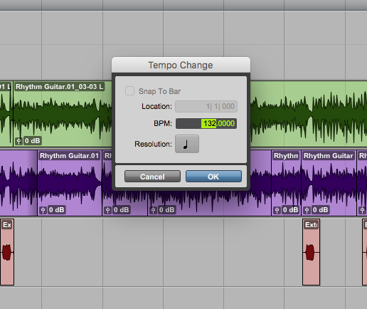 Setting up a click track, one of the most important elements of a tight recording!