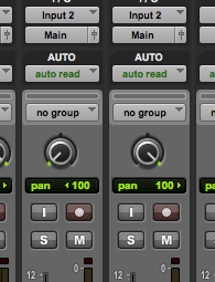 Panning your rhythm tracks hard left and right.