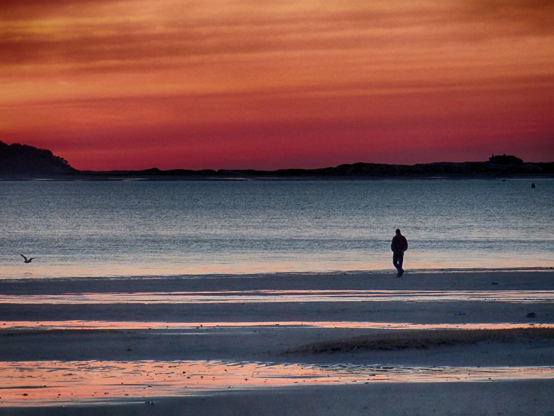 Omaha Beach Sunset