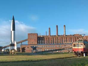 The Peenemunde Museum, one of the historic sites of German rocket history.