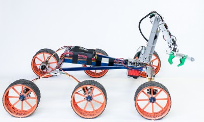 Brigham Young University's award-winning rover design (Credit: Brigham Young University)