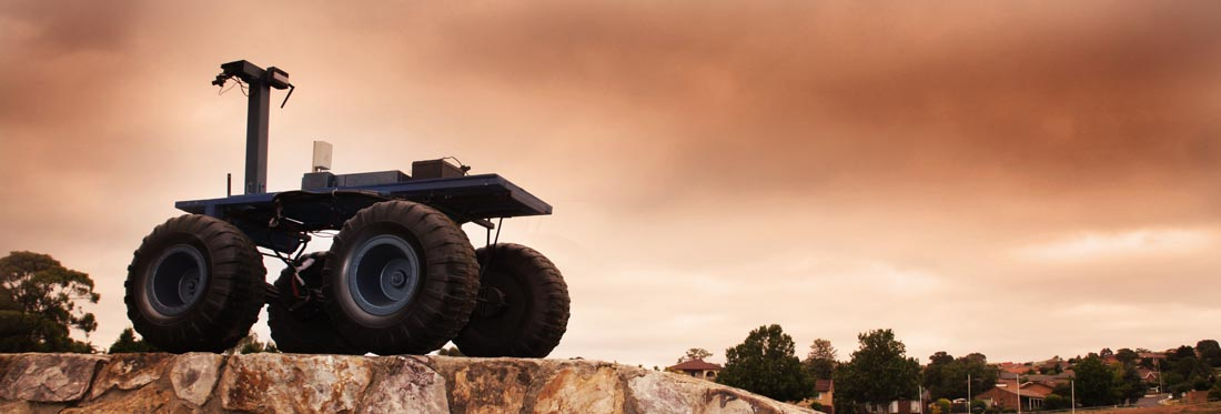 One of the rovers tested at the Mars Society of Australia's Arkaroola Mars Robot Challenge.  Source: Mars Society of Australia