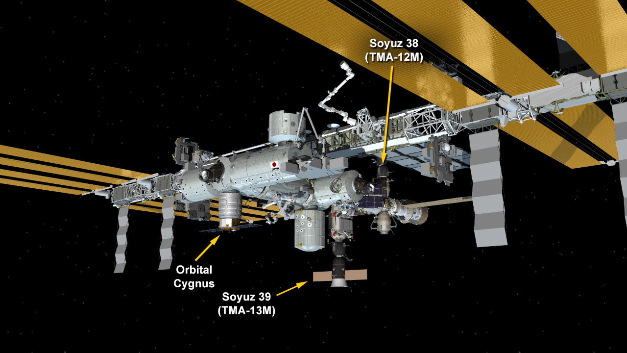 Each Soyuz lifeboat only has room for 3. Who wants to get left behind?  Source:  Nasa