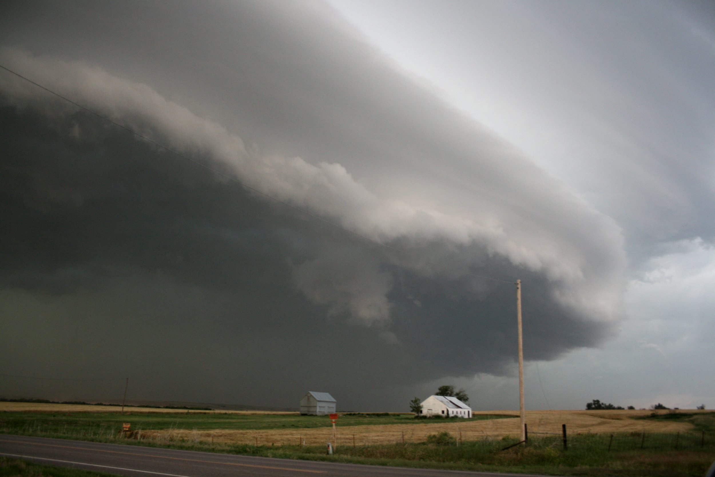 Weather can change dramatically within a short distance. Forecasters need data from more places than their sensor networks cover. Credit:  Sean Waugh NOAA/NSSL
