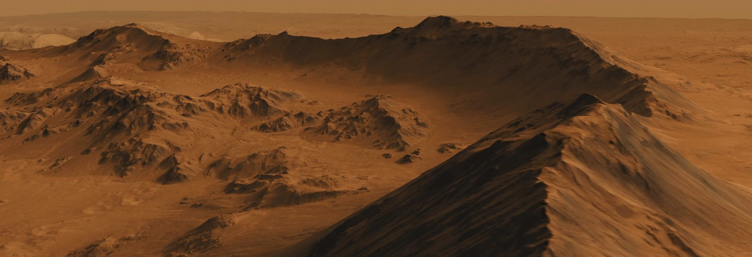Looks like a nice place for a picnic. Mojave Crater as taken by Nasa's Mars Reconnaissance Orbiter.  Credit:  Nasa/JPL-CalTech/Univ. of Arizona