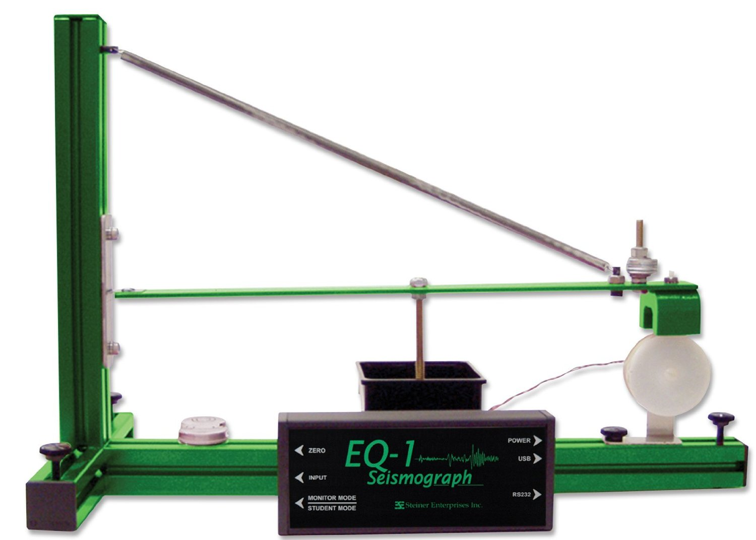 If you can't build your own, this educational seismograph will let you monitor quakes but will set you back over $600 [ Amazon link ]