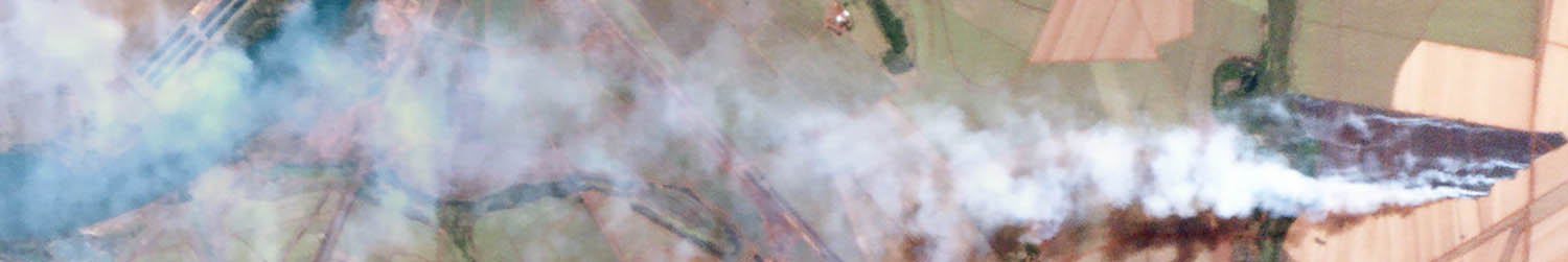 Fires in Brazil... from space.  Source:  Planet Labs