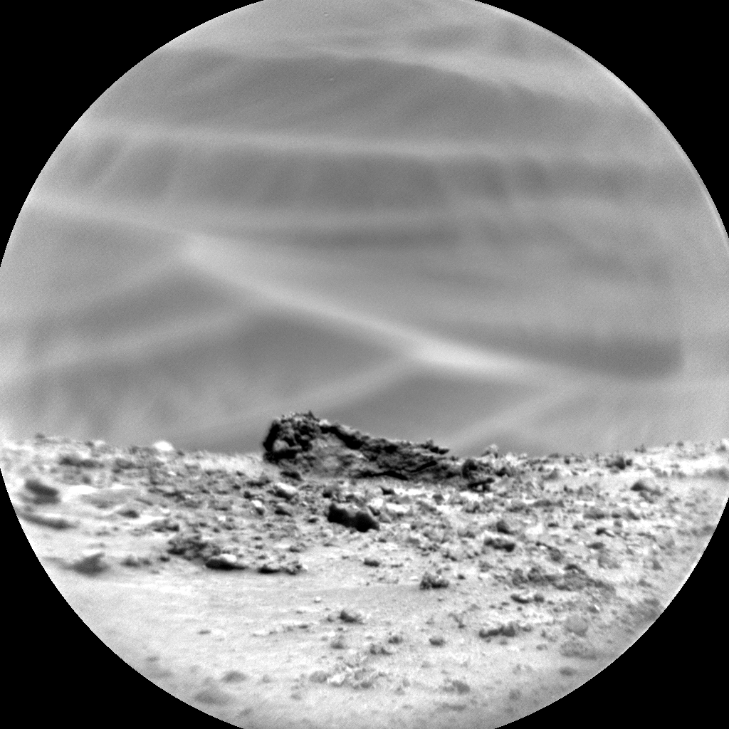 A closeup of Mars  taken on February 6from the Mars Science Laboratory Curiosity's ChemCam.  Credit: Nasa/JPL-Caltech/LANL