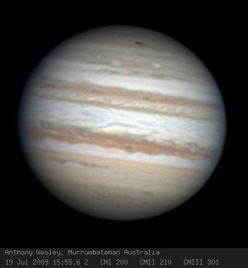 Jupiter's Hit!