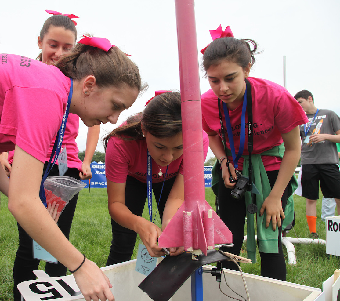 The Team America Rocketry Challenge has inspired more than 60,000 students to pursue science and math related careers. Credit:  Team America Rocketry Challenge