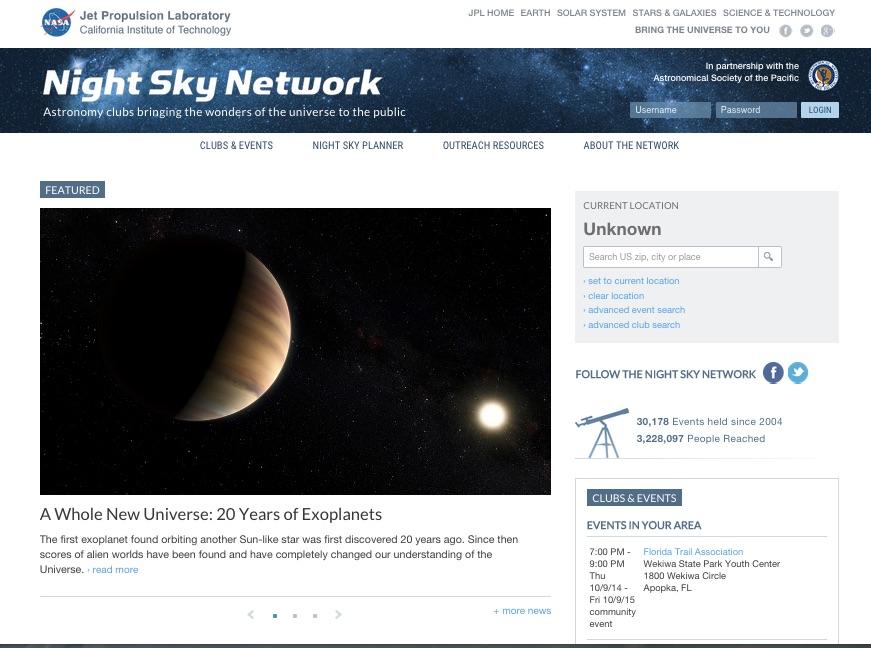 Screenshot source: Nasa/JPL-Caltech