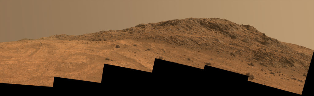 Hinners Point above the floor of Marathon Valley  Credit:  NASA/JPL-Caltech/Cornell Univ./Arizona State Univ