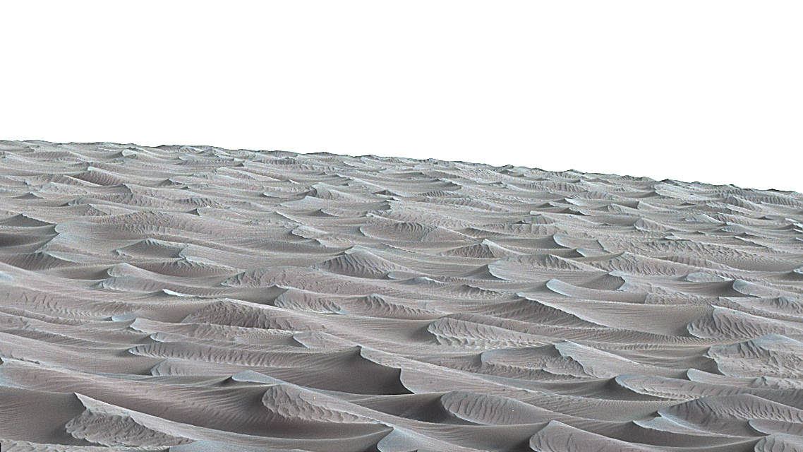 The Bagnold Dunes