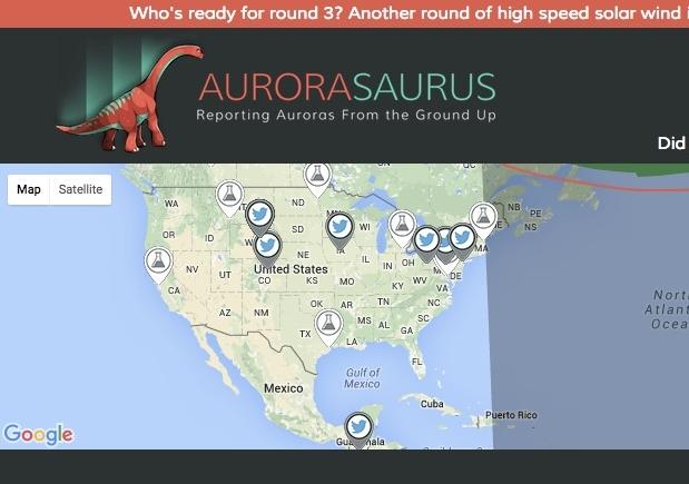 Crowdsourcing improves aurora forecasts