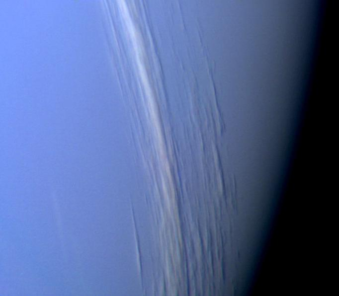OK, amateurs aren't this good. But getting images from the Nasa/JPL Planetary PhotoJournal is so easy I couldn't resist. (But yes, there are high altitude clouds on Neptune). Credit:  Nasa/JPL-Caltech