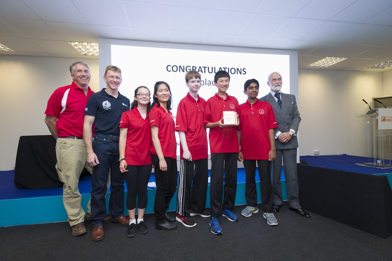 The Space Potatoes out-rocketed teams from Great Britain, France, and Japan to win the International Rocketry Challenge.  Credit:  Team America Rocketry Challenge