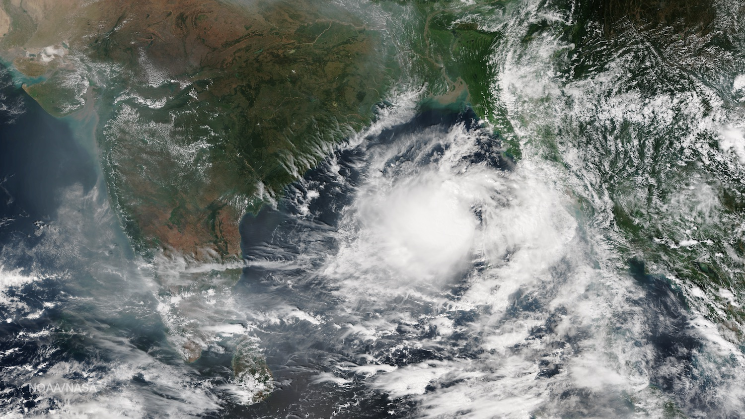 Satellite images and data can be used in the classroom with educational resources from the National Oceanic and Atmospheric Administration. Credit: Nasa/Noaa