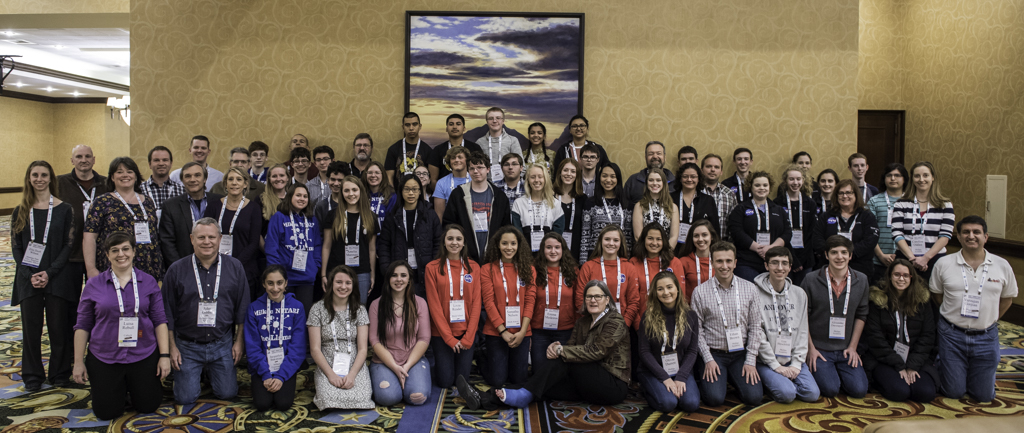 The fifty teachers and students participating in the Nasa/Ipac Teacher Archive Research Program joined the weeklong winter meeting of the American Astronomical Society. Credit:  Caltech